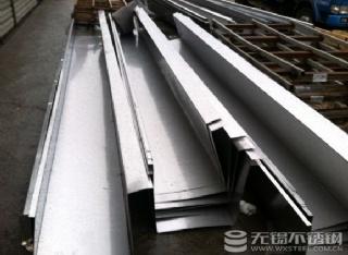 江苏无锡冷轧201不锈钢排水沟,实厚2.17MM