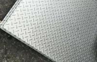201不锈钢花纹板防滑板_多少钱一吨